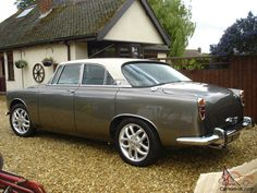 Truly stunning example of a 1972 Rover 3. 5 ltr P5B coupe in metallic galaxy grey with cream roof. We have made the decision to sell this lovely car as we are moving house and down sizing. We have spent a lot of time and expense on this car over the years. ncluding an overhaul of the engine and a lot of work professionally carried out to the underside and bodywork making this a good solid car that