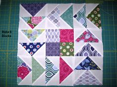 tutorial - when you have to make flock of geese:  Moda Bake Shop: Flying in Squares Quilt