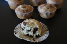 Eggless Chocolate Chips Muffins Recipe