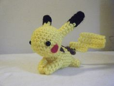 I must have this!!  Pokemon Inspired Pikachu Crocheted Doll Made to Order on Etsy, $8.06 AUD