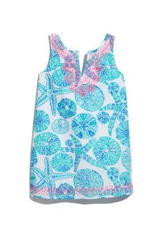 LillyPulitzerforTarget_SHIFT DRESS - SEA URCHIN FOR YOU // Girls $26, Toddler Girls $22