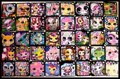 All 11 LPS tokens that I own ^__^ My Virtual Pets on LPS