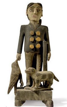 Anonymous Works: Folk Sculpture in the Upcoming Christie's Auction