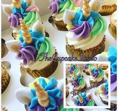Cupcake uncornio