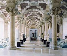 candida hofer musee du louvre paris via kishani perera blog