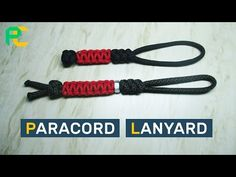 How to make a Slant-Wrapped Endless Falls Paracord Lanyard - YouTube