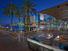Mandarin Oriental Miami Beach La Mar Terrace - 4 Florida Resorts You Wish You Were At Right Now South Beach Miami, North Beach, Mandarin Oriental, Florida Keys, Miami Florida, South Florida, Florida Resorts, Miami Heat, Usa