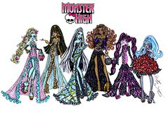 The ghouls of Monster High are black carpet ready & looking gore-geous! Which monster look is your fave?