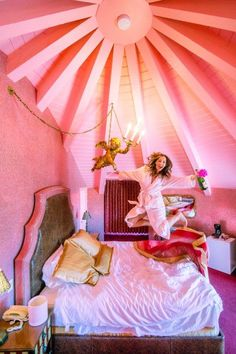 Madonna Inn San Luis Obispo might be the funnest hotel in the world!