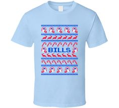 Bills Football Ugly Christmas Sweater T Shirt - Buffalo Bills Team Colors   #BuffaloBills,#Buffalo,#Bills,#Christmas,#UglySweater,#Football,#Gift,#FootballSweater,#BillsSweater