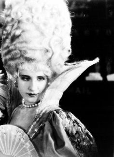 "Looks like Norma Shearer  . . . from ""Marie Antoinette"" perhaps?"
