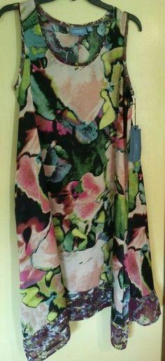 NWT Women's gorgeous summer Dress SIMPLY VERA WANG Size PM MSRP $68 free ship #SimplyVeraVERAWANG