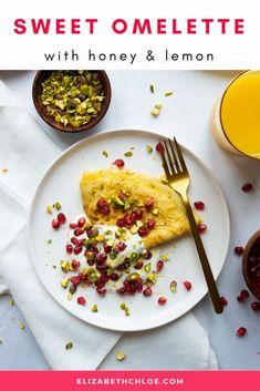 Sweet Omelette with Lemon