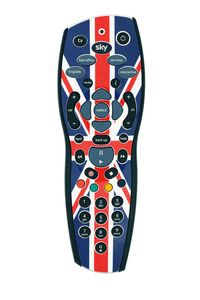 """Sky Jubilee Remote Control - #unnecessaryunionjacks - thanks to @GML1320 via Twitter: apparently this was emailed to a Scottish customer in Edinburgh so counts as """"in Scotland""""."""