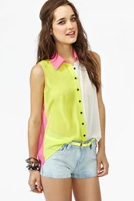 Bright Side Blouse from Nasty Gal