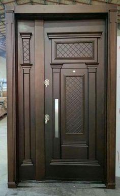 Flush Door Design, Home Door Design, Door Gate Design, Door Design Interior, Main Entrance Door Design, Wooden Front Door Design, Double Door Design, Wood Front Doors, Craftsman Interior Doors