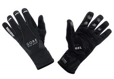 Winter Cycling Gear: The Gore Alp-X Windstopper Gloves are both impressively warm and strikingly thin. $60.