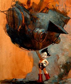 Astro Boy by Ashley Wood