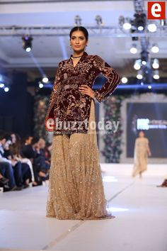Sania Maskatiya at PFDC Loreal Paris Bridal Week 2015