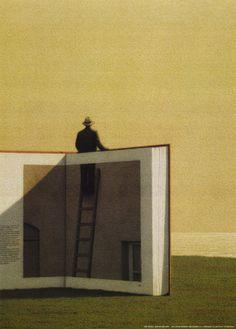 Art autour des livres by Quint Buchholz - BONHEUR DE LIRE
