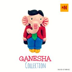 Ganesha in Coat Pant (SKU ID: GT-008-02) #handicrafts #kraftnation #art #store #shopping #homedecor