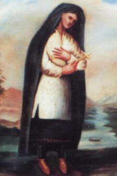 St Kateri Tekakwitha, Lily of the Mohawks She was a 17th Century Mohawk princess, who lost her father, her mother and her brother. She herself was disfigured by smallpox, which also greatly impaired her vision. She even had to leave her home and tribe after converting to Catholicism. Yet St. Kateri Tekakwitha's sanctity was so great that she impressed everyone she met - and many miracles have been attributed to her since her death.