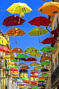 #04.04. Coloured umbrellas