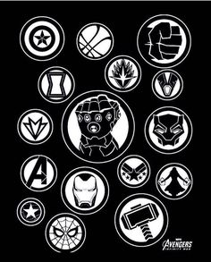 Heroes Marvel Vs Dc Comics, Marvel Logo, Marvel Films, Marvel Fan, Marvel Heroes, Marvel Avengers, Avengers Symbols, Avengers Characters, Capitan America Marvel