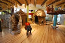 Madison, WI - Madison Children's Museum. Environmental awareness is the big focus of this museum. It features a rooftop garden where kids can get their hands dirty planting, collect chicken eggs, and learn about homing pigeons. Those under 5 can explore the tree house or little huts. Crawlers have their own special padded play area made from local natural materials. The entire museum is cleaned with natural products, and the café offers healthy foods.
