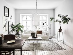 The Scandinavian living room design ideas can deliver a sense of clean and tidy to your house. The design focuses on the calm and clean atmosphere of the room. There are many Scandinavian living room designs you can try to… Continue Reading → Scandinavian Design Living Room, Room Design, Living Room Decor, Minimalist Living Room, Apartment Decor, Living Room Scandinavian, Home, Farm House Living Room, Room Interior
