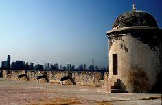 Fotos Bonitas de Cartagena de Indias.: Las Murallas Garita