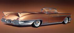 Plan59 :: Classic Car Art :: 1958 Cadillac Eldorado Biarritz