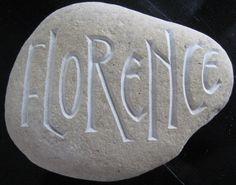 geboorte steen, Letter per Letter