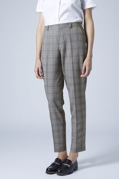 Premium Check Suit Trouser