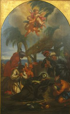 "fuckayehistory: "" The Death of St. Francis Xavier, century after Carlo Maratta The Jesuit Community of Loyola University Chicago "" Francis Xavier, St Francis, Loyola University Chicago, 18th Century, Baroque, Christianity, Saints, Death, Icons"