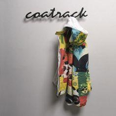 design wall mounted coat rack COATRACK by Juozas Brundza Contraforma