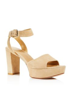 Stuart Weitzman Realdeal High Heel Platform Sandals