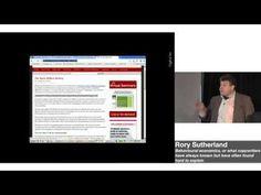Prof. Daniel Kahneman talks Behavioural Economics with Rory Sutherland. - YouTube