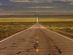 U.S. Route 50 - Known as America's most lonely road. Scary at times.