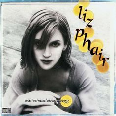 """Whitechocolatespaceegg by Liz Phair Her best album, IMO. Exile in Guyville is good and all, but pretty overrated. Best Songs: """"Polyester Bride"""" """"Perfect World"""" """"Only Son"""" """"Big Tall Man"""" """"White Chocolate Space Egg"""" """"Uncle Alvarez"""" Liz Phair, Power Pop, Great Albums, American Singers, Johnny Depp, Woman Face, Album Covers, Audio, Songs"""