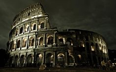 The Colosseum, or the Coliseum, originally the Flavian Amphitheatre, is an elliptical amphitheatre in the centre of the city of Rome, Italy, the largest ever built in the Roman Empire.