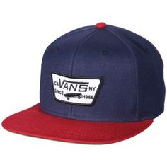 Vans Full Patch Snapback - Men's  $29.99