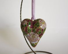 Decorative Floating Heart by KleinDesignVintage on Etsy