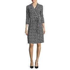 jcp | Liz Claiborne® 3/4-Sleeve Chevron Wrap Dress