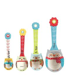 Measuring Spoon Set by Boston Warehouse on #zulily