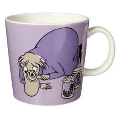 Moomin mug (Hemulen), my absolute favorite coffee mug.