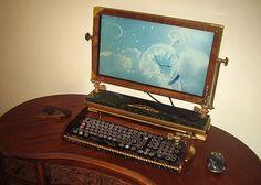 Steampunk computer - Kirk DuQuette