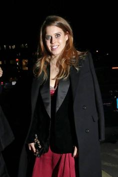 Royal Family Around the World: Princess Beatrice of York, Attended Vogue and Tiffany and Co party at Annabel's club on February 18, 2018 in London, England.