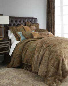 """Dian Austin Couture Home """"Renaissance"""" Bed Linens - Neiman Marcus"""
