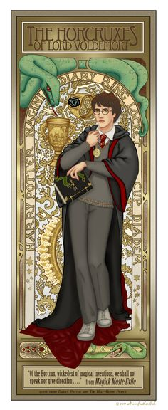 Diana M. McCabe - Art Post: The Horcruxes of Lord Voldemort